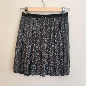 NWT flower print skirt